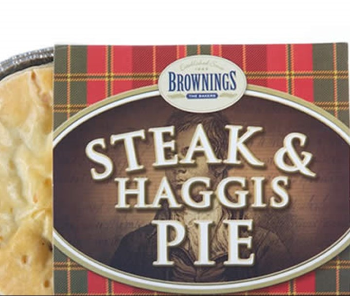 Buy Steak and Haggis Pie