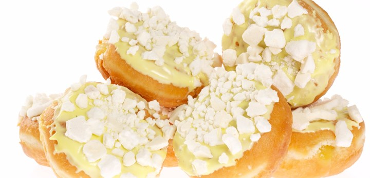 Lemon Meringue Donut