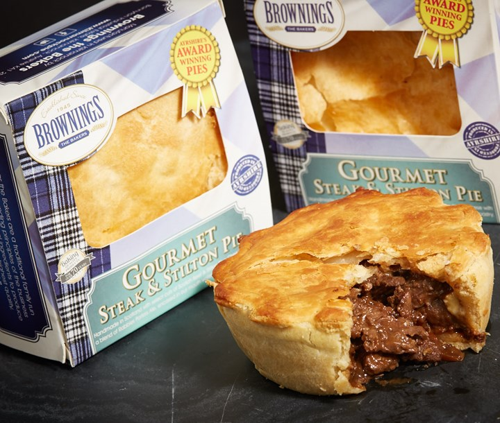 Gourmet Steak and Stilton Pie