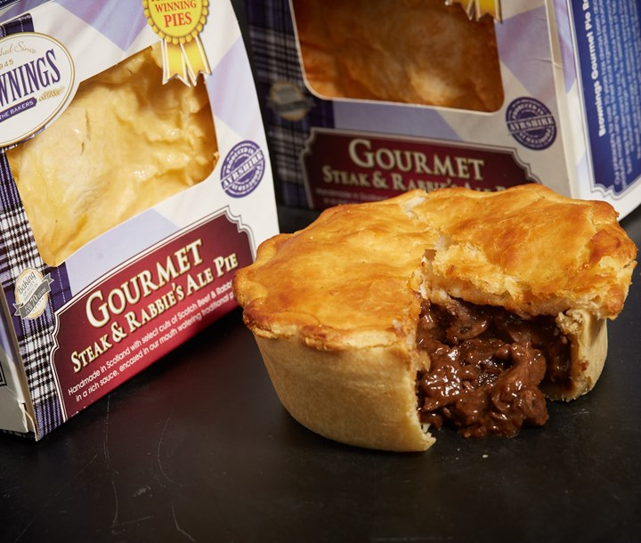 Gourmet Steak and Rabbie's Ale Pie