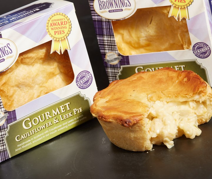 Buy Gourmet Cauliflower and Leek Pie