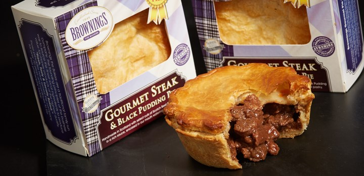 Gourmet Steak and Black Pudding Pie