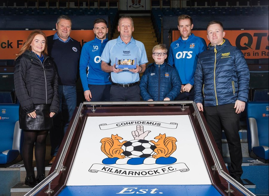 Brownings the Bakers Kilmarnock FC Sponsorship