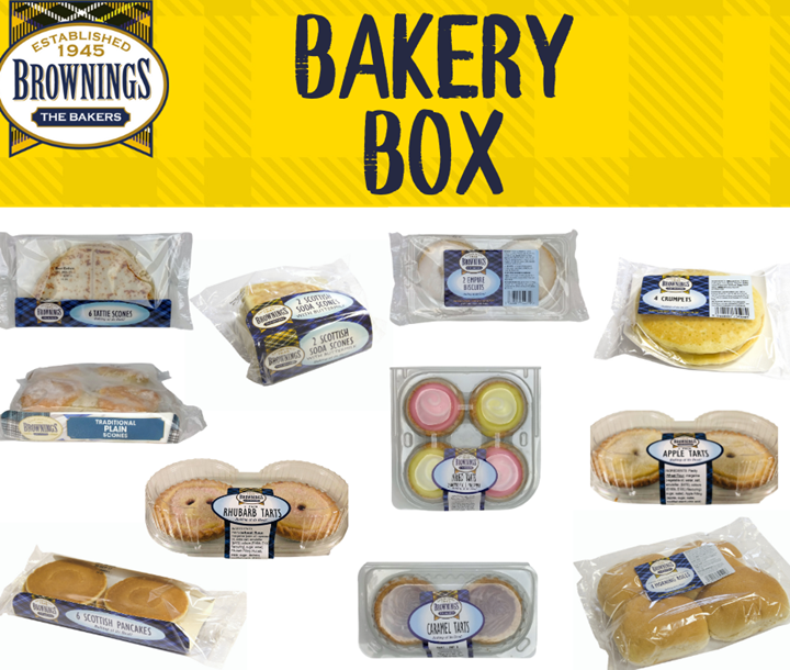 Brownings Bakery Box